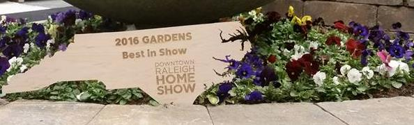 Raleigh Landscaping Best in Show Award 2016