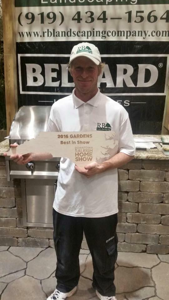 Raleigh Home Show 2016 - Best in Show Award