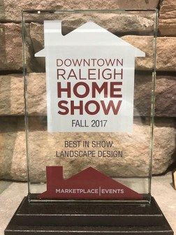 Image of Fall 2017 Raleigh Home Show Award
