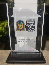 Image of Fall 2018 Southern Ideal Home Show MOST CREATIVE EXHIBITOR OF THE YEAR