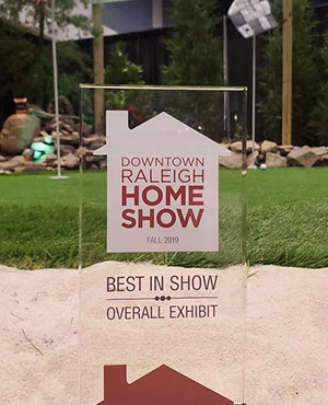 Fall 2019 Downtown Raleigh Home Show Award