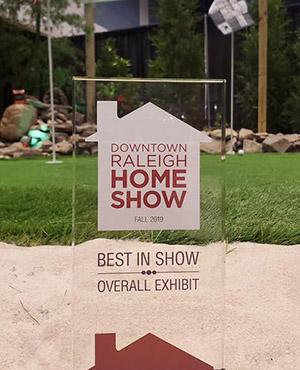 Fall 2019 Downtown Raleigh Home Show Award