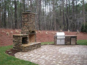 Image of a Outdoor Kitchen