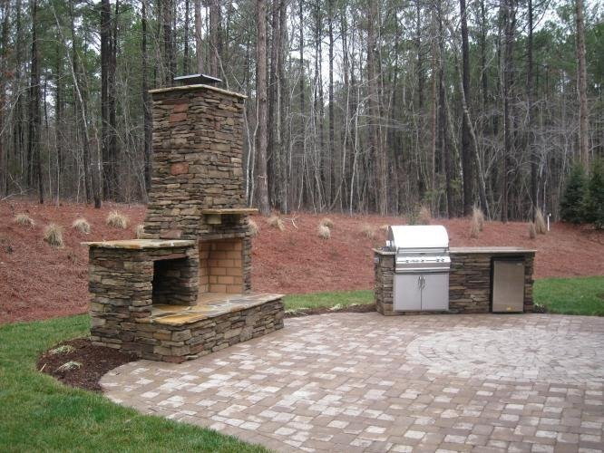 Fire Pit Raleigh Nc Outdoor Kitchen Design Fireplace